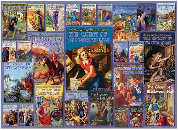 Vintage Nancy Drew   Puzzle Cobble Hill 1000 Piezas