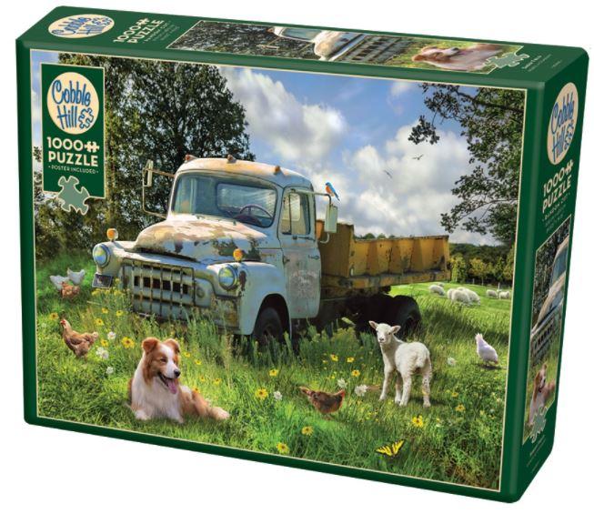Sheep Field   Puzzle Cobble Hill 1000 Piezas