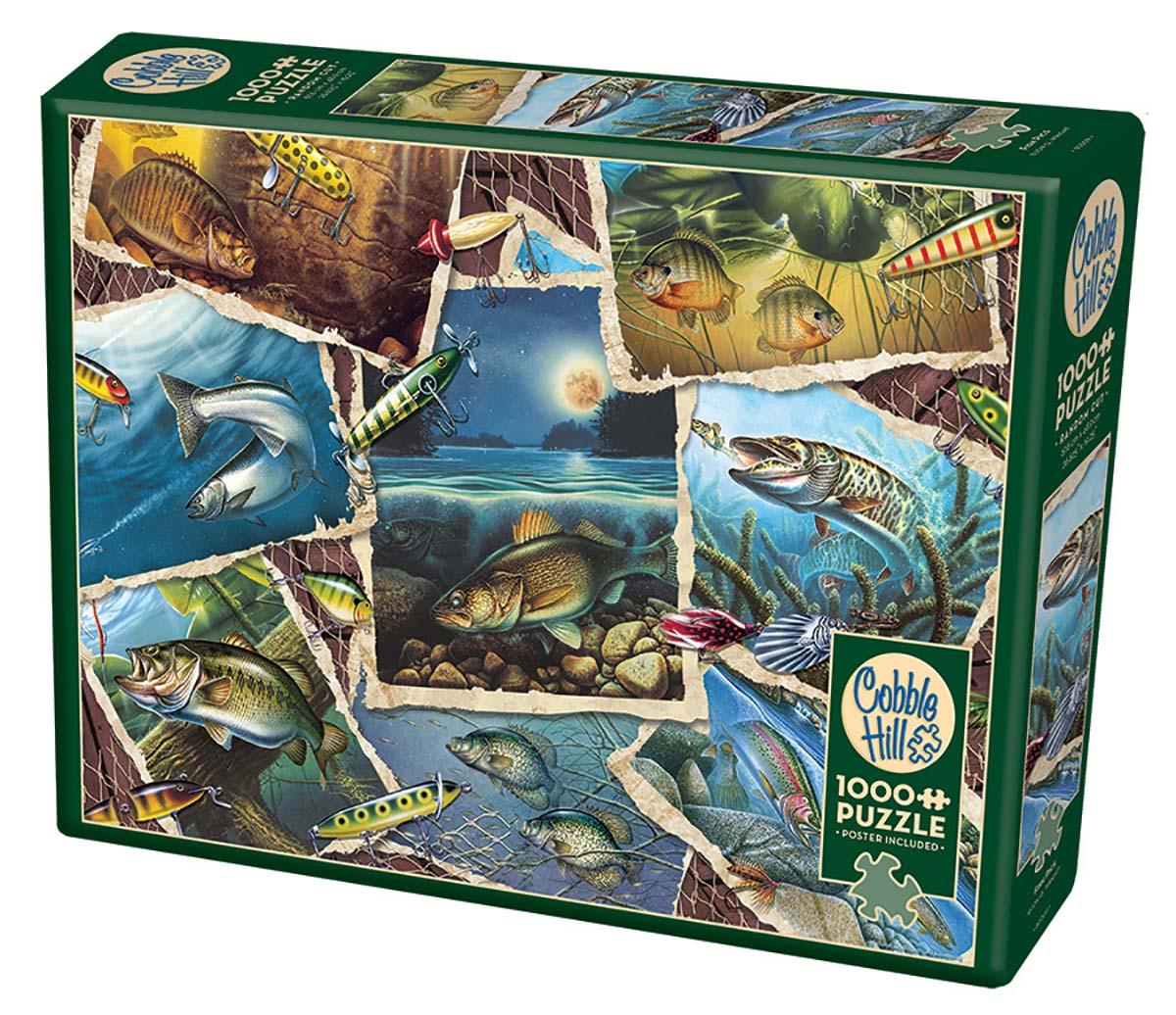 Fish Pics | Puzzle Cobble Hill 1000 Piezas