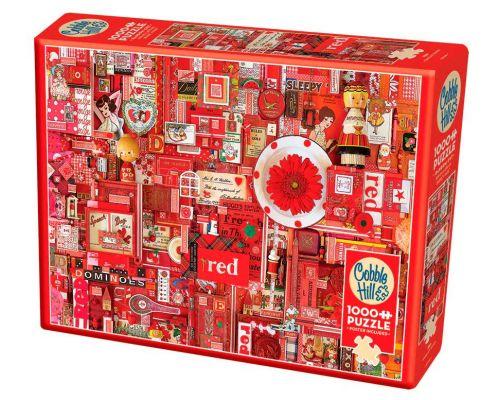 Red | Puzzle Cobble Hill 1000 Piezas