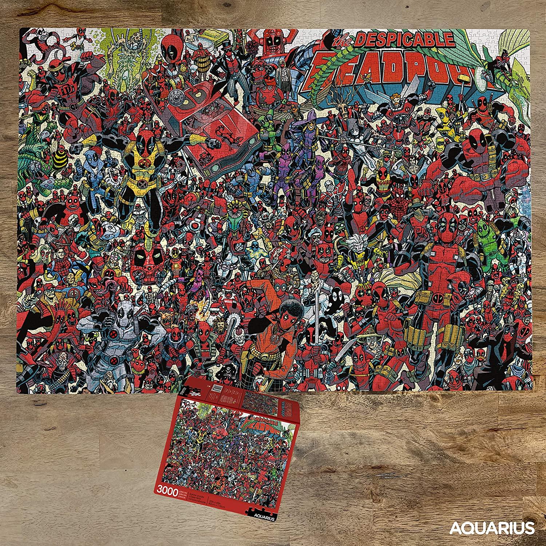 Marvel Deadpool | Puzzle Aquarius 3000 piezas