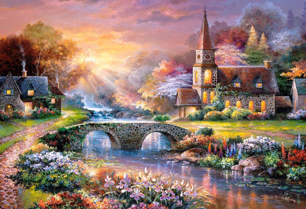 Reflexiones Pacíficas   Puzzle Castorland 3000 Piezas