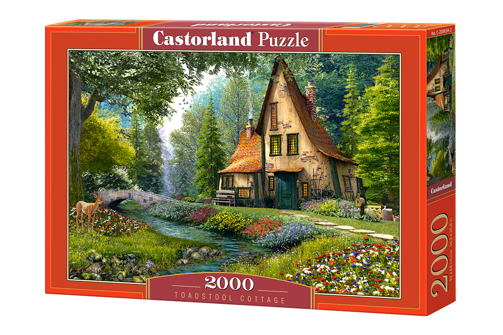 Cabaña vieja en el bosque | Puzzle Castorland 2000 Piezas