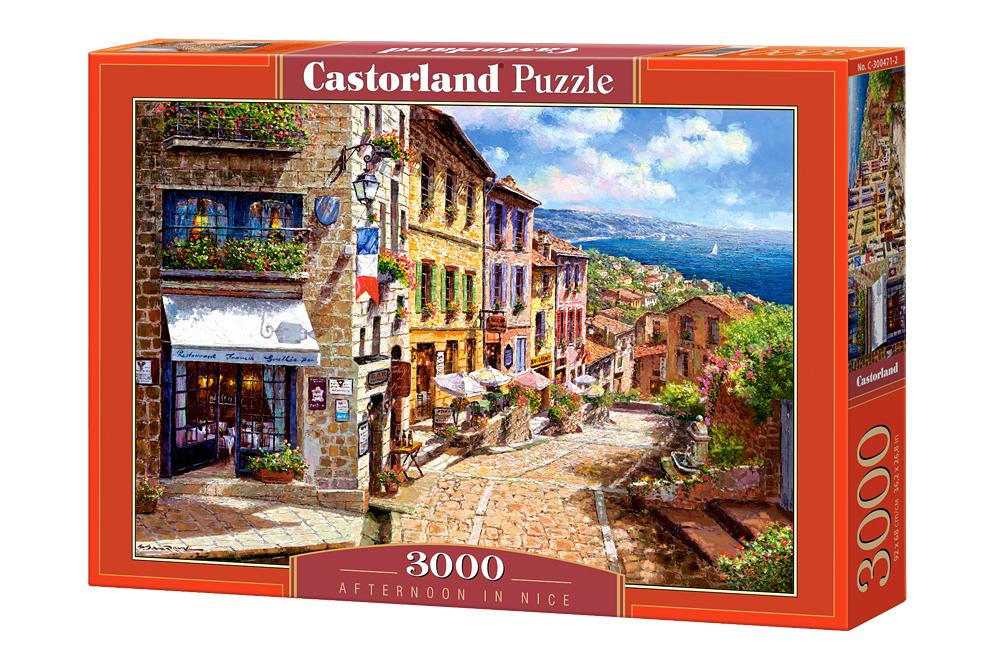 Tarde en Niza | Puzzle Castorland 3000 Piezas
