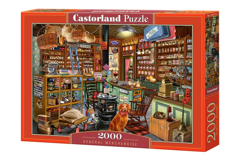 Tienda de mercancía | Puzzle Castorland 2000 Piezas