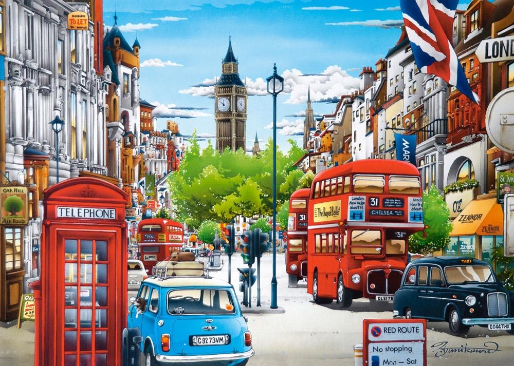 Londres   Puzzle Castorland 1500 Piezas