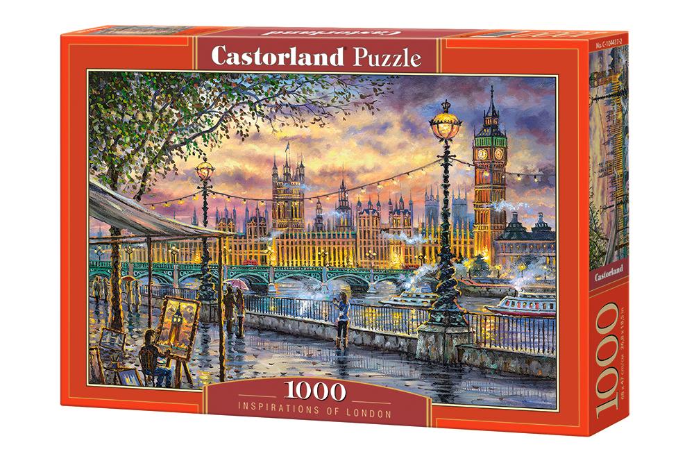 Inspiración en Londres   Puzzle Castorland 1000 Piezas