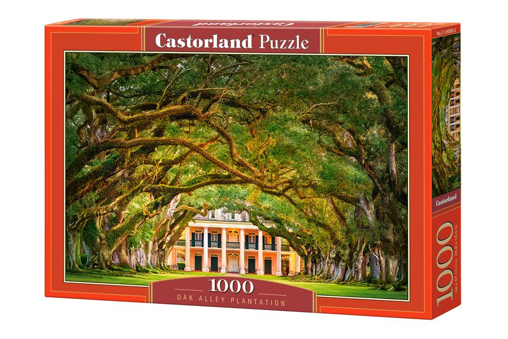 Plantación en Oak Alley | Puzzle Castorland 1000 Piezas