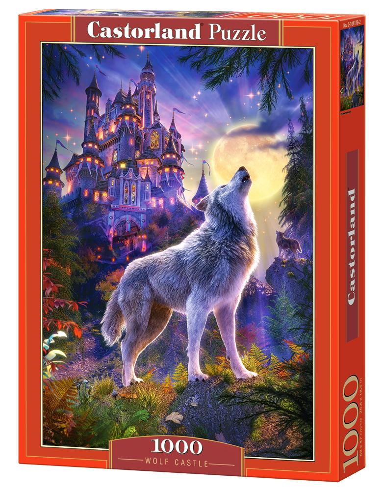 Castillo del Lobo   Puzzle Castorland 1000 Piezas