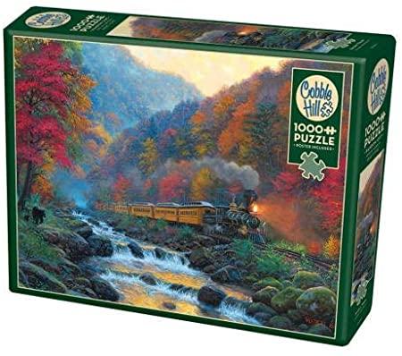Smoky Train   Puzzle Cobble Hill 1000 Piezas