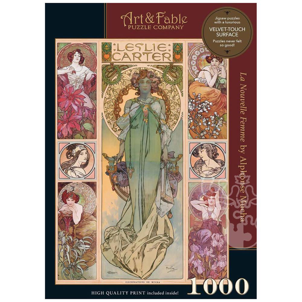 La Nouvelle Femme   Puzzle Art & Fable 1000 Piezas