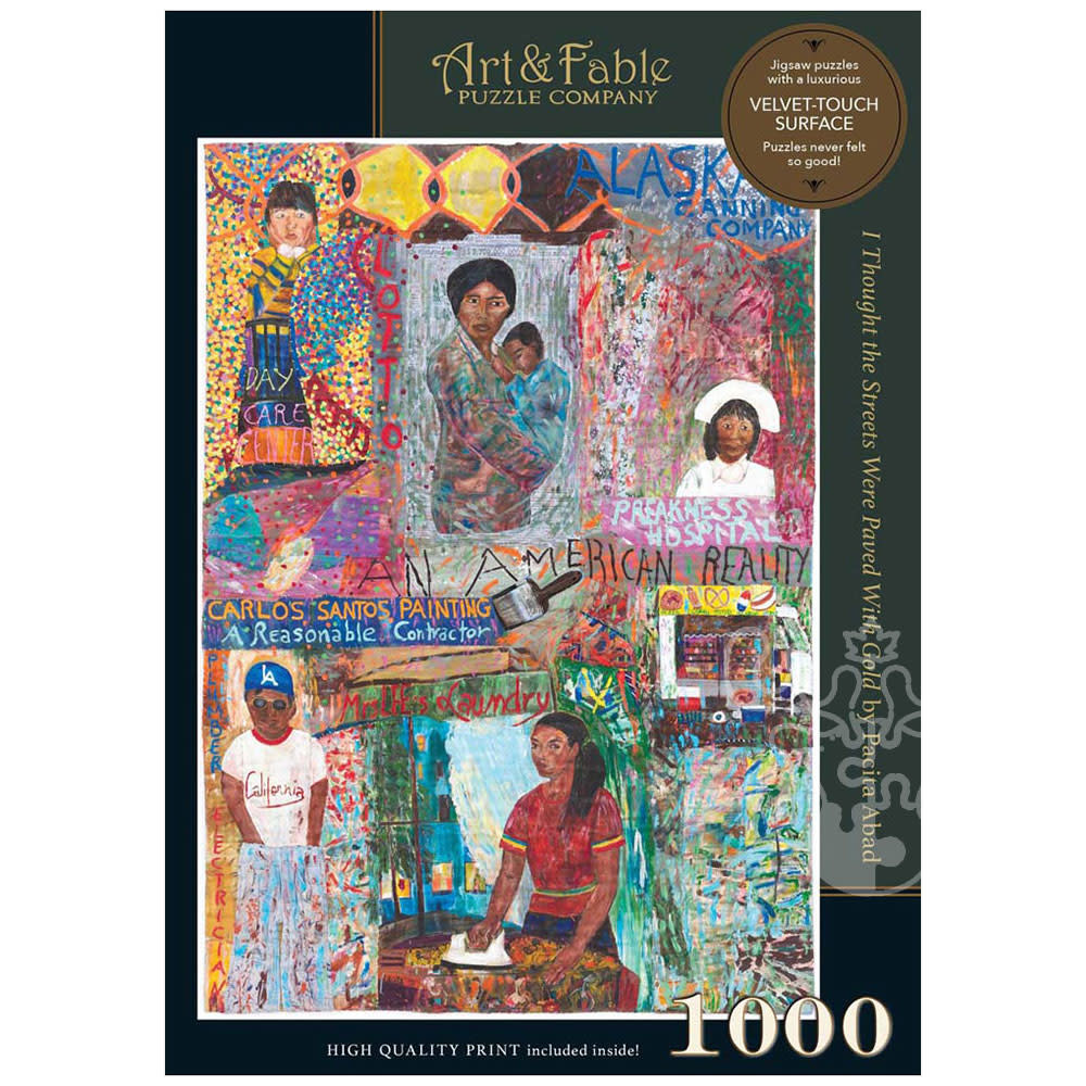 I Thought the Streets Were Paved With Gold | Puzzle Art & Fable 1000 Piezas