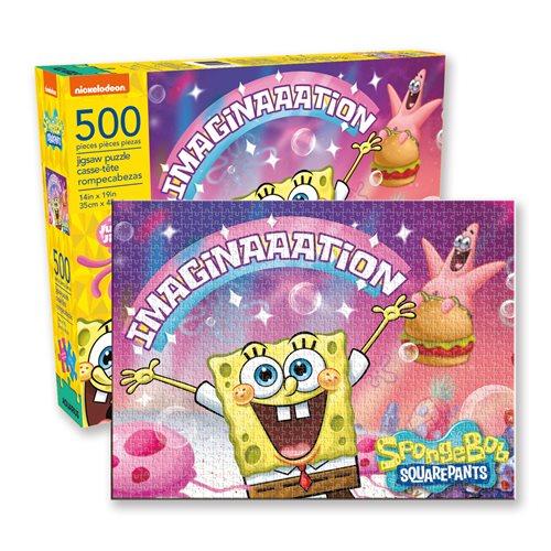 Bob esponja Imaginación   Puzzle Aquarius 500 Piezas