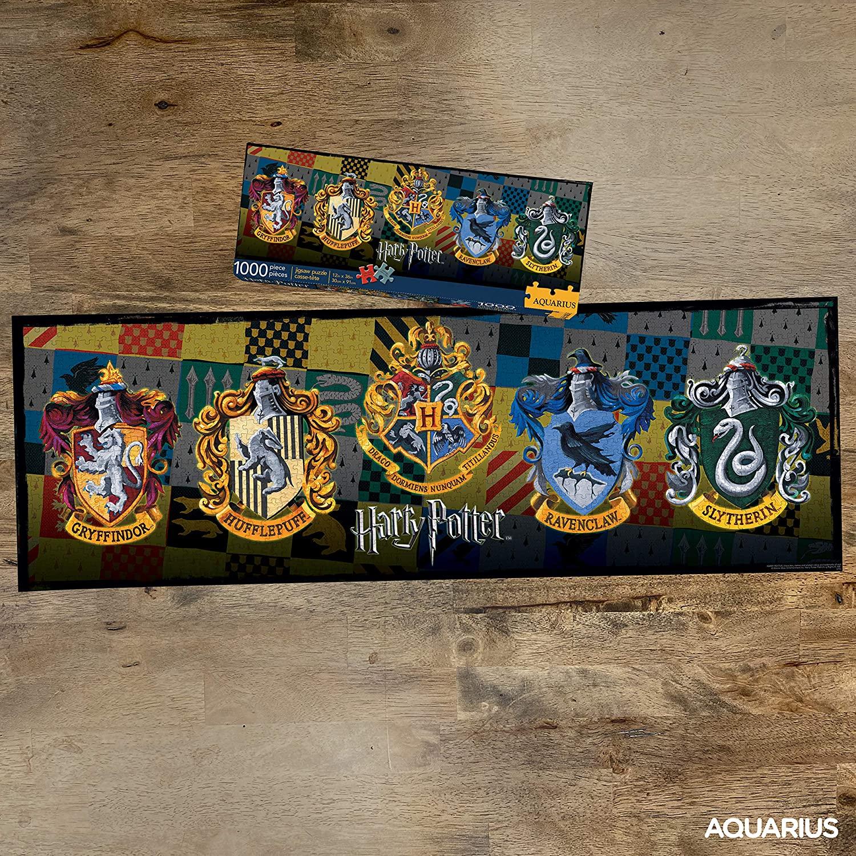 Harry Potter Crests | Puzzle Aquarius 1000 Piezas