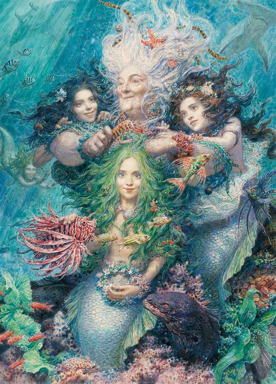 Daughters of the Sea   Puzzle Art & Fable 750 Piezas