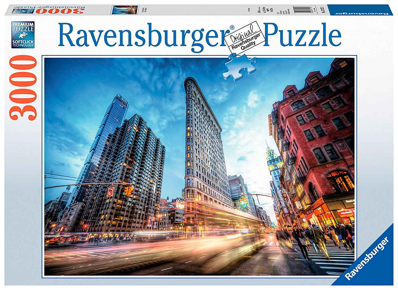 Edificio Flat Iron   Puzzle Ravensburger 3000 Piezas