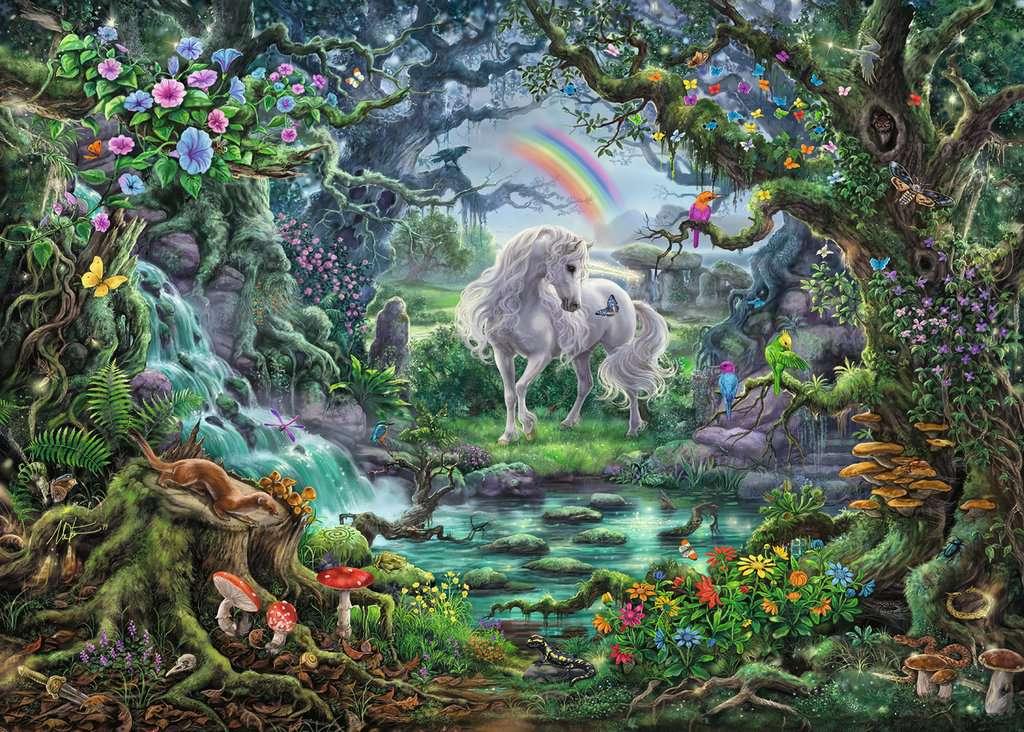 El Unicornio | Escape Puzzle Ravensburger 759 Piezas
