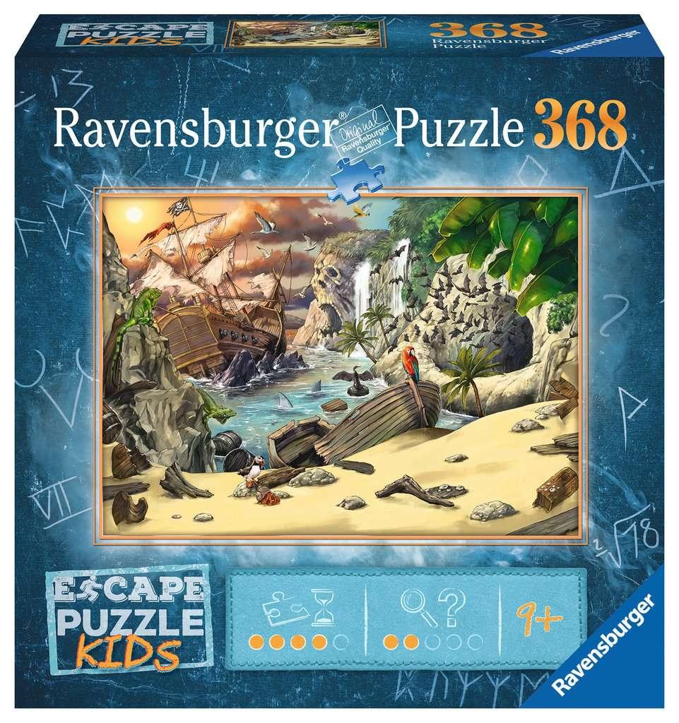 La aventura pirata | Escape Puzzle Kids Ravensburger 368 Piezas