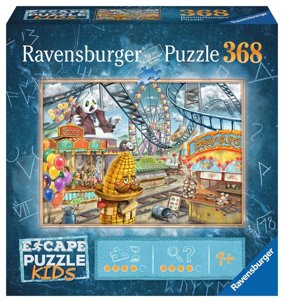 El parque de atracciones   Escape Puzzle Ravensburger 368 Piezas
