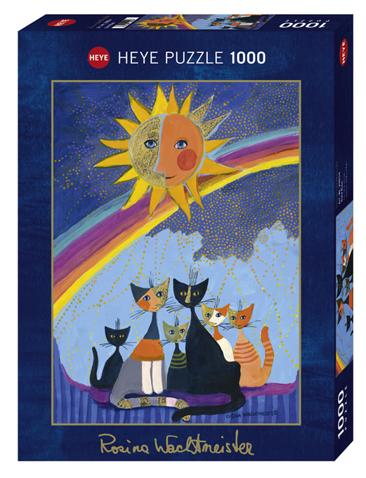 Gold Rain | Puzzle Heye 1000 Piezas