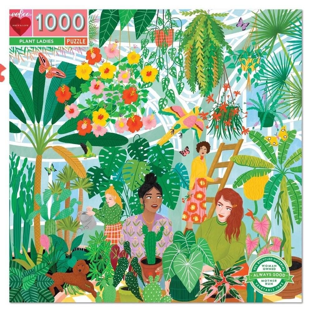 Las Chicas Botánicas | Puzzle Eeboo 1000 Piezas