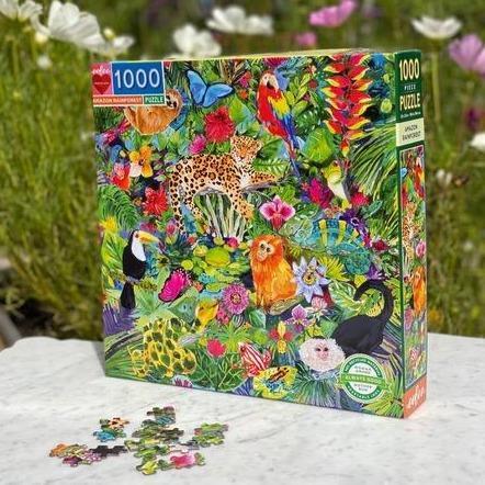 Selva Amazónica | Puzzle Eeboo 1000 Piezas