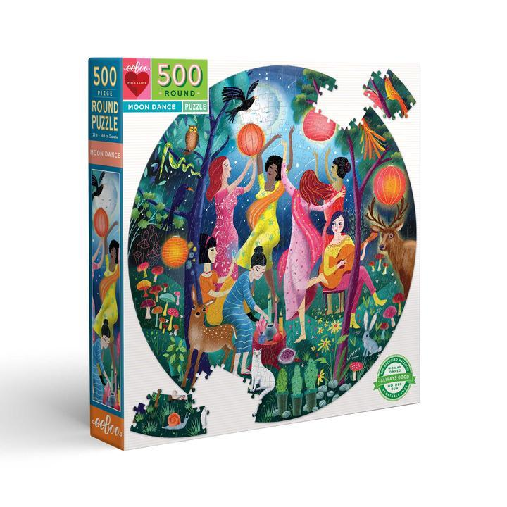 Baile de Luna | Puzzle Eeboo Redondo 500 Piezas