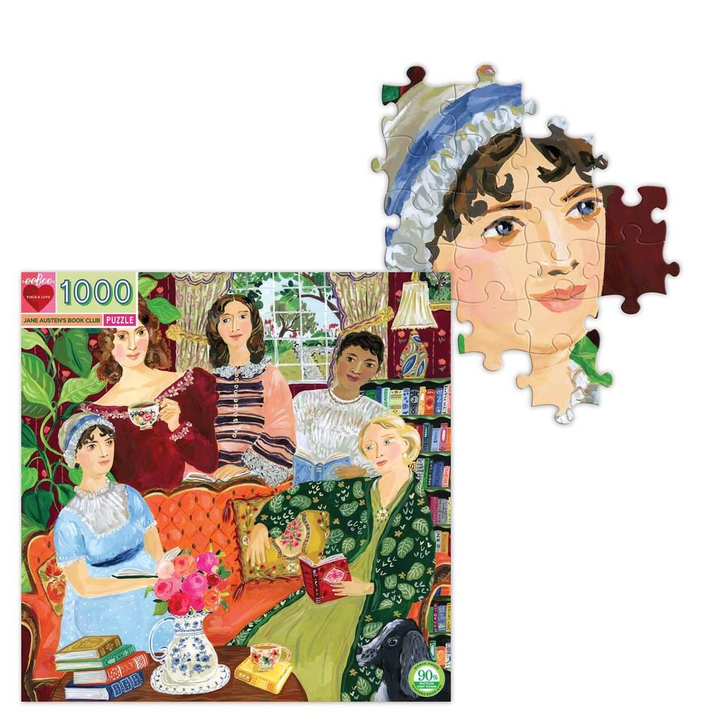 El Club de Lectura de Jane Austen | Puzzle Eeboo 1000 Piezas