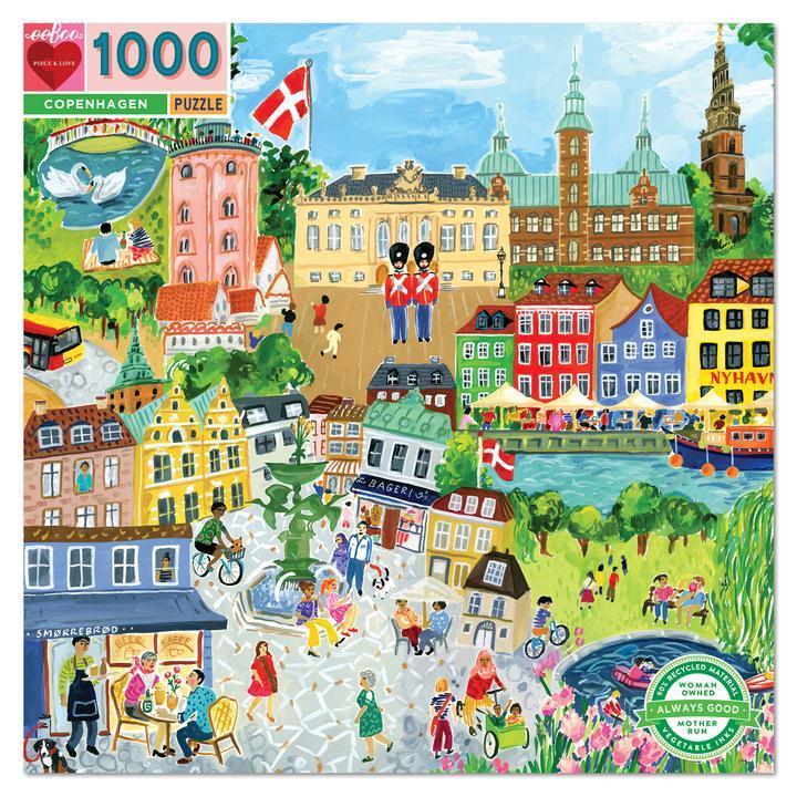 Copenhague | Puzzle Eeboo 1000 Piezas
