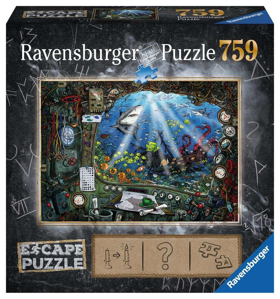 En el Submarino   Escape Puzzle Ravensburger 759 Piezas