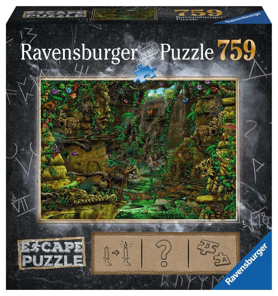 El Templo | Escape Puzzle Ravensburger 759 Piezas