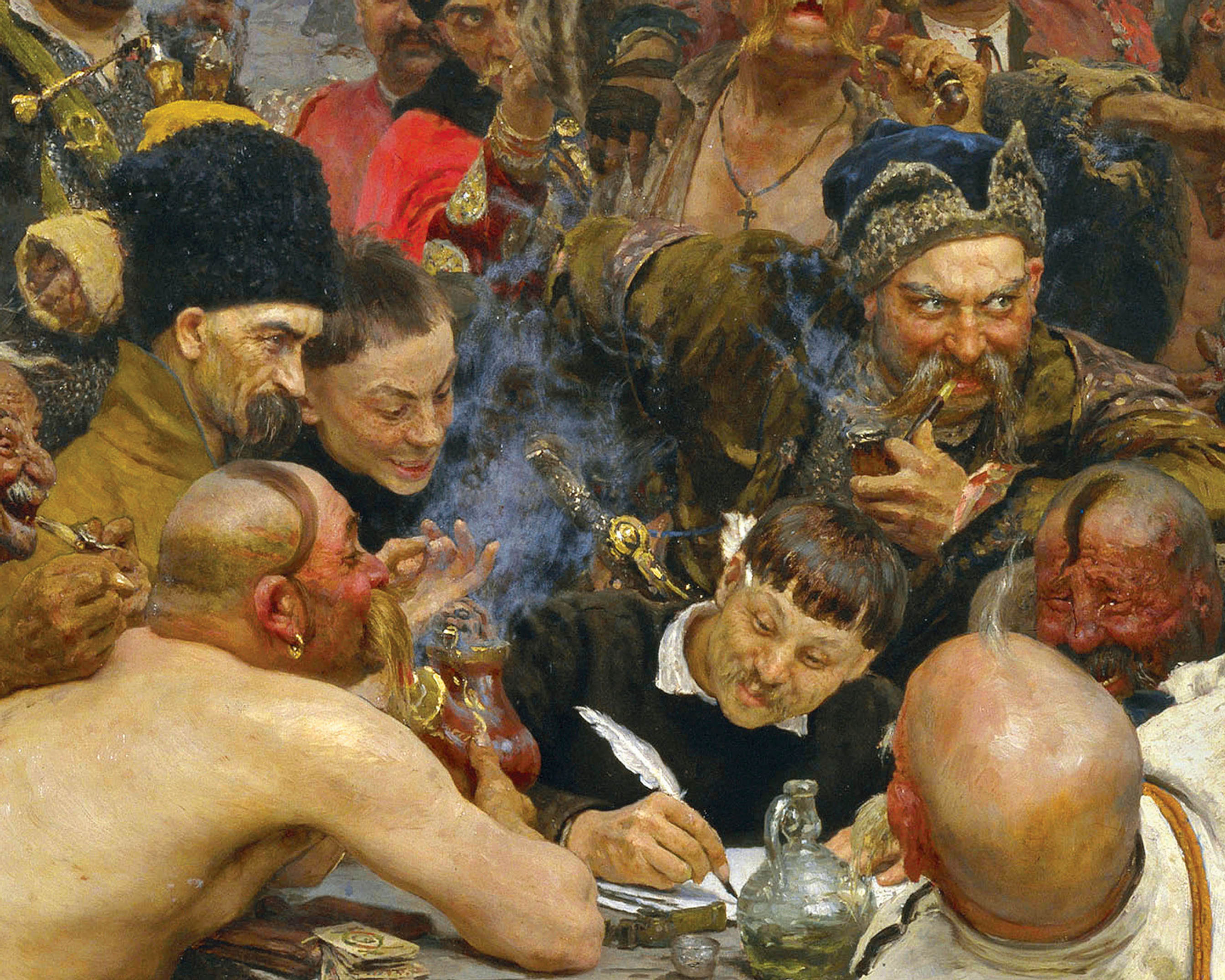 Reply of the Cossacks | Puzzle Art & Fable 1000 Piezas