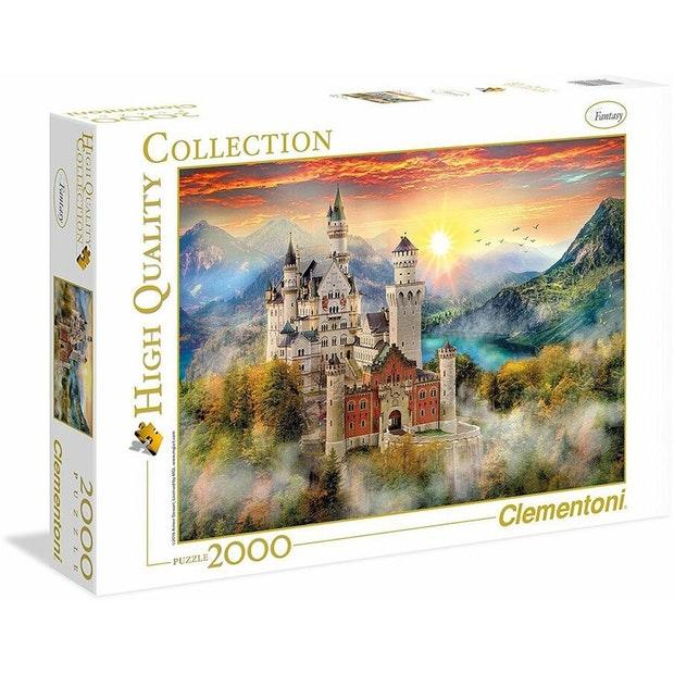 Neuschwanstein   Puzzle Clementoni 2000 Piezas