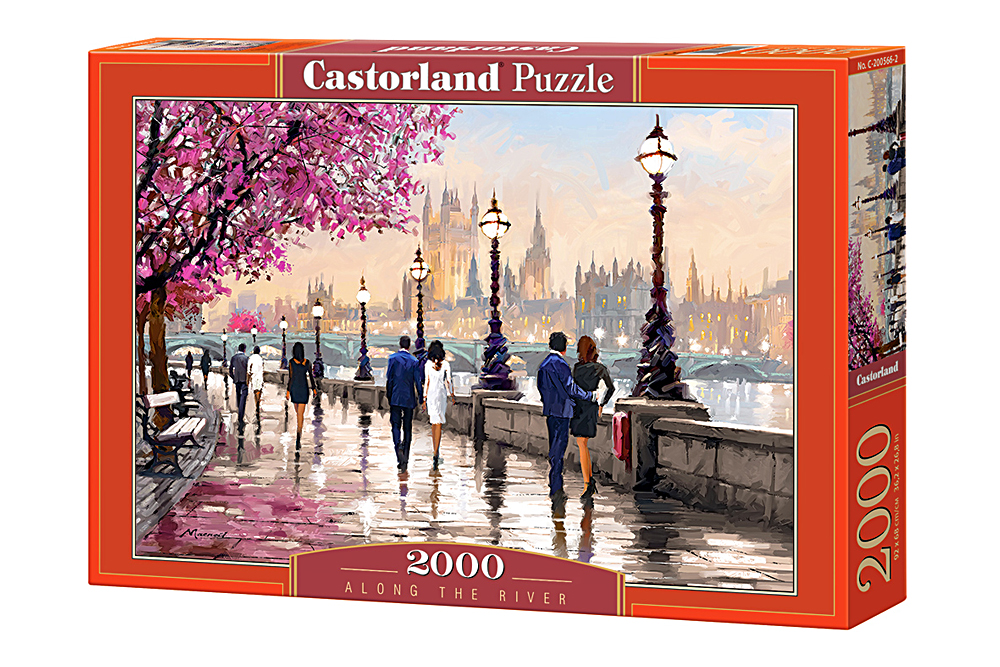 A lo largo del rio | Puzzle Castorland 2000 Piezas