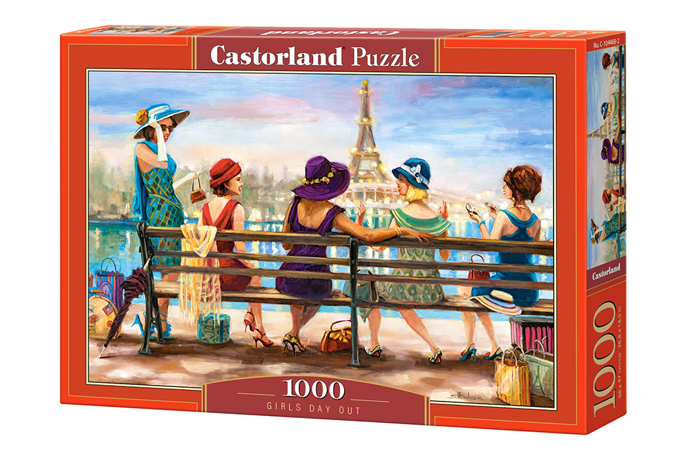 Día de las niñas   Puzzle Castorland 1000 Piezas