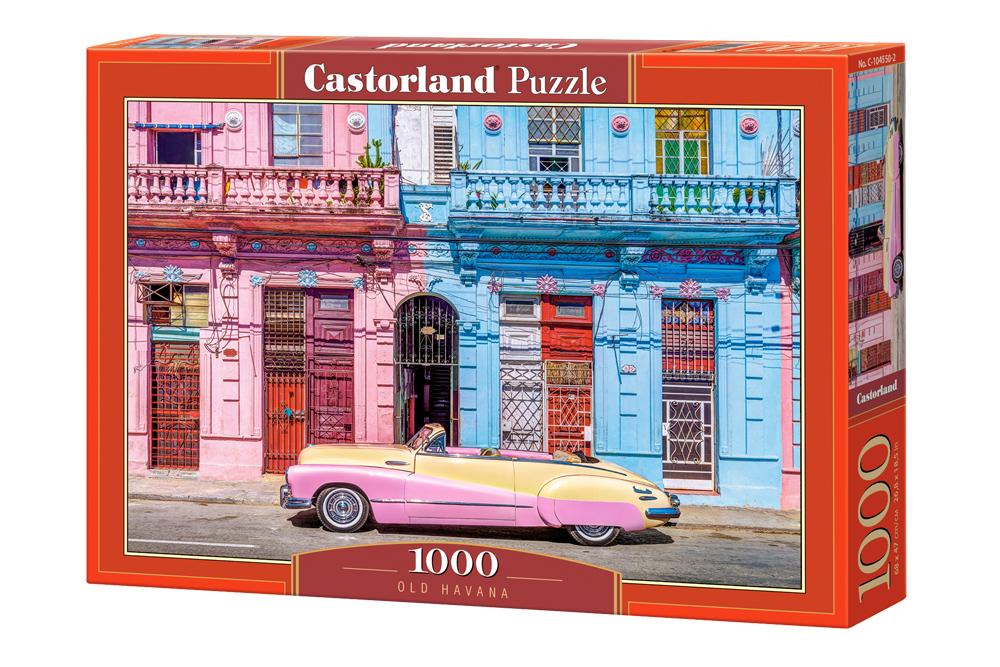 Habana Vieja   Puzzle Castorland 1000 Piezas