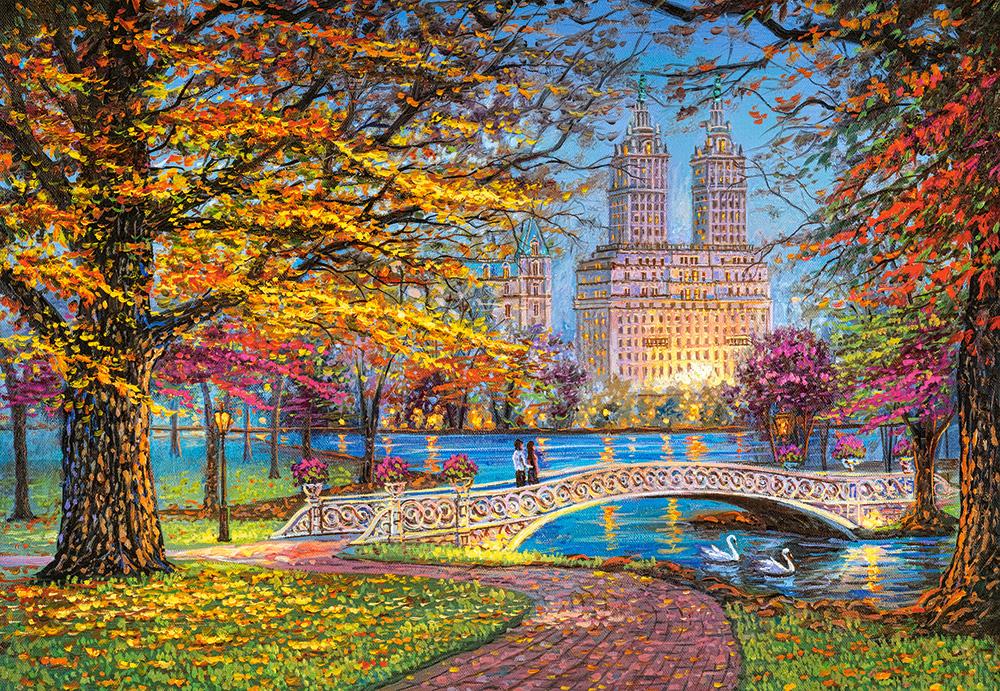 Paseo de Otoño en Central Park   Puzzle Castorland 1500 Piezas