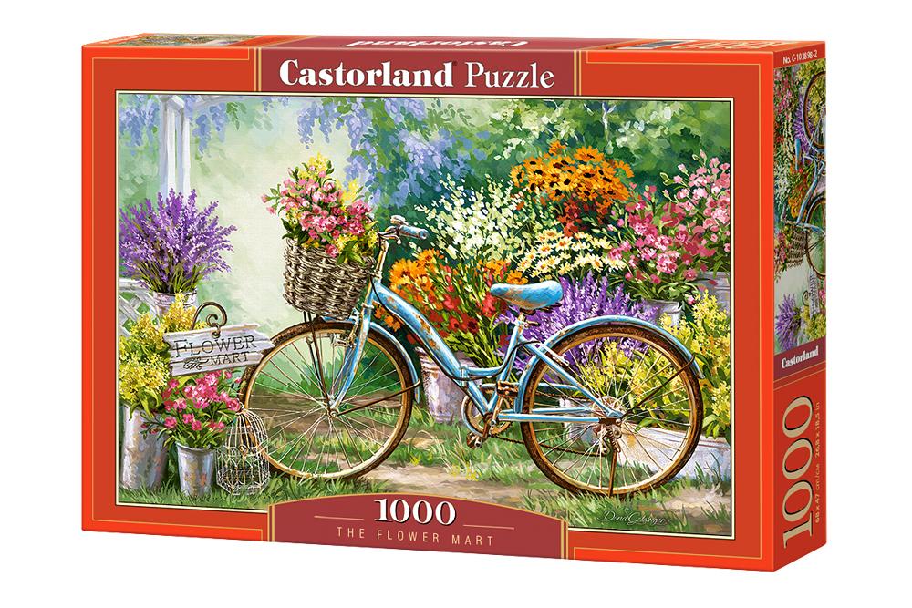 Mercado de Flores | Puzzle Castorland 1000 Piezas
