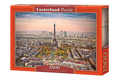 Paisaje Urbano de París | Puzzle Castorland 1500 Piezas