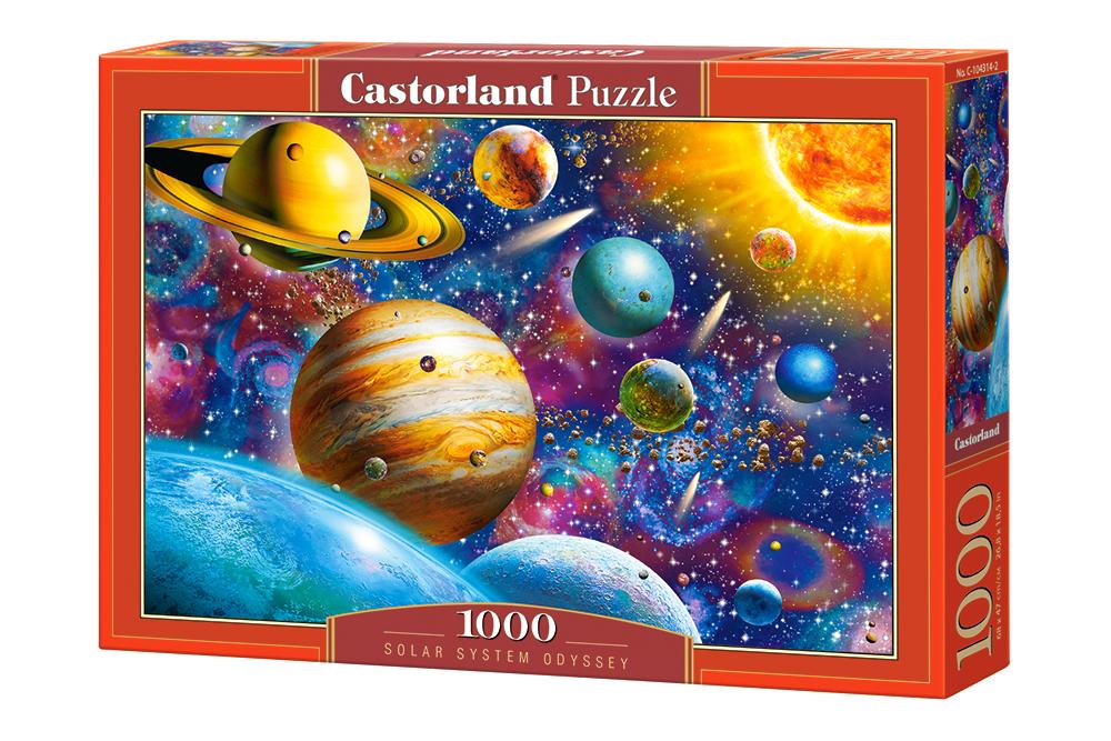 Odisea del sistema solar   Puzzle Castorland 1000 Piezas
