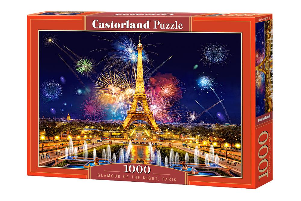 Glamour de la Noche   Puzzle Castorland 1000 Piezas