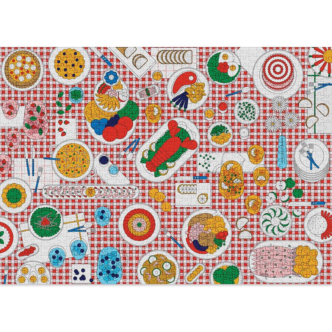 Feast   Puzzle Cloudberries 1000 Piezas