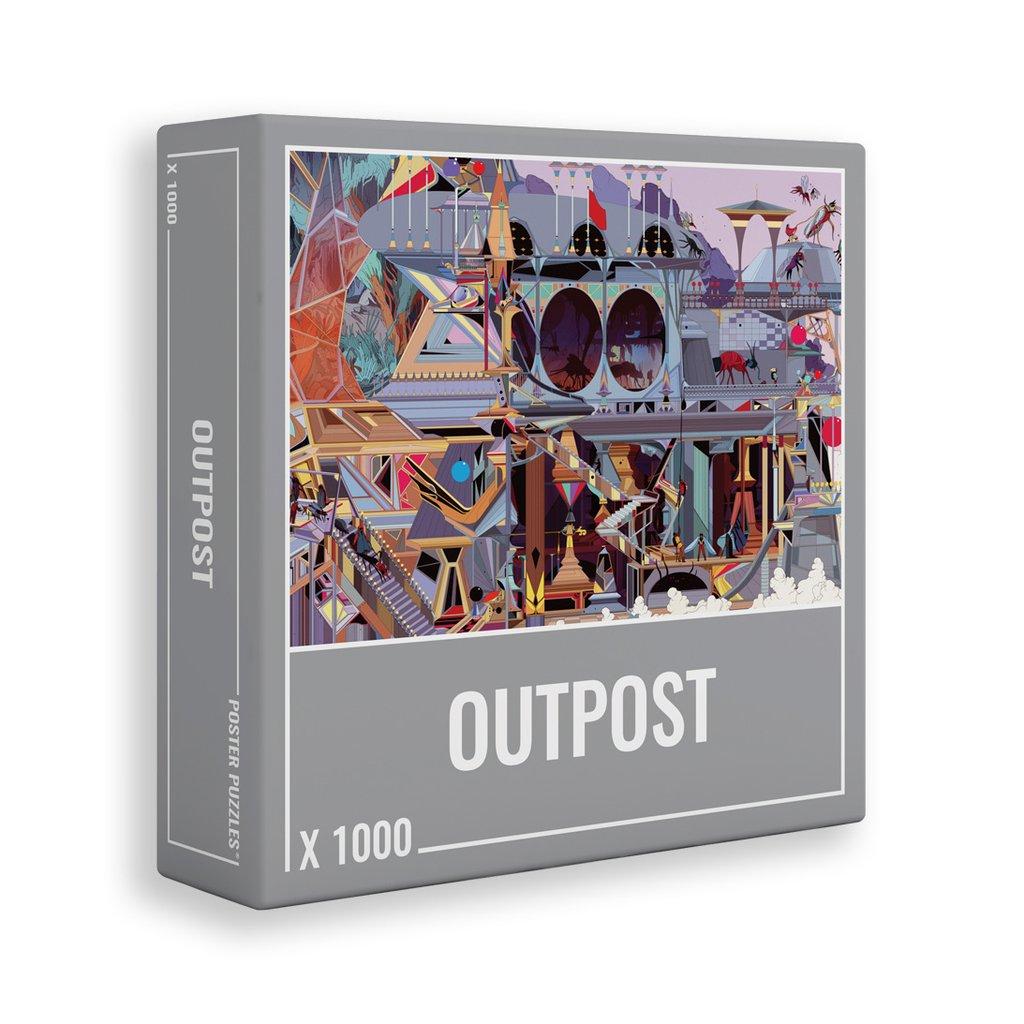 Outpost   Puzzle Cloudberries 1000 Piezas