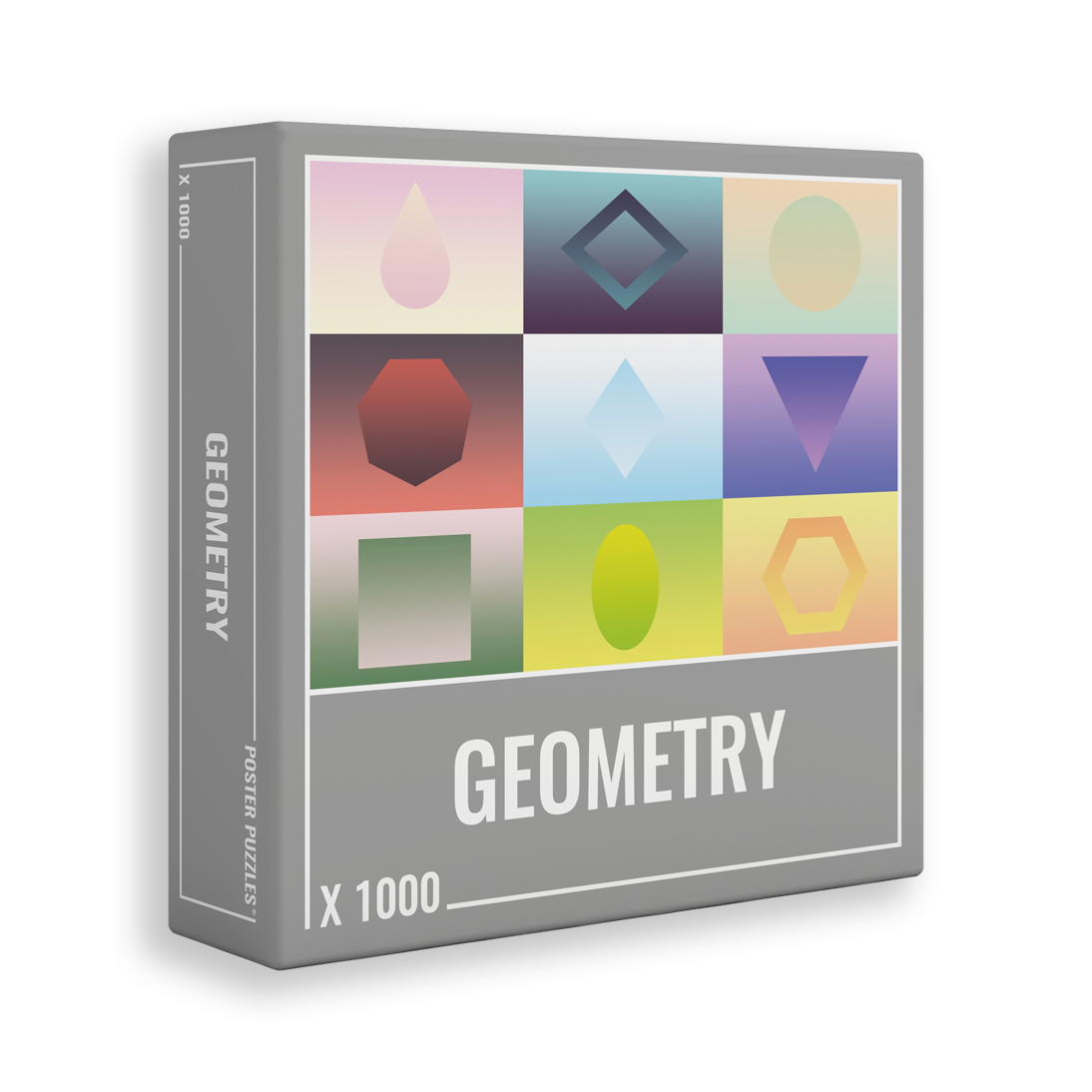 Geometry | Puzzle Cloudberries 1000 Piezas