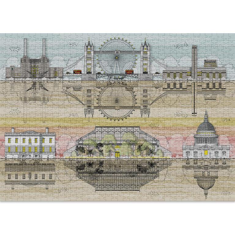London | Puzzle Cloudberries 1000 Piezas