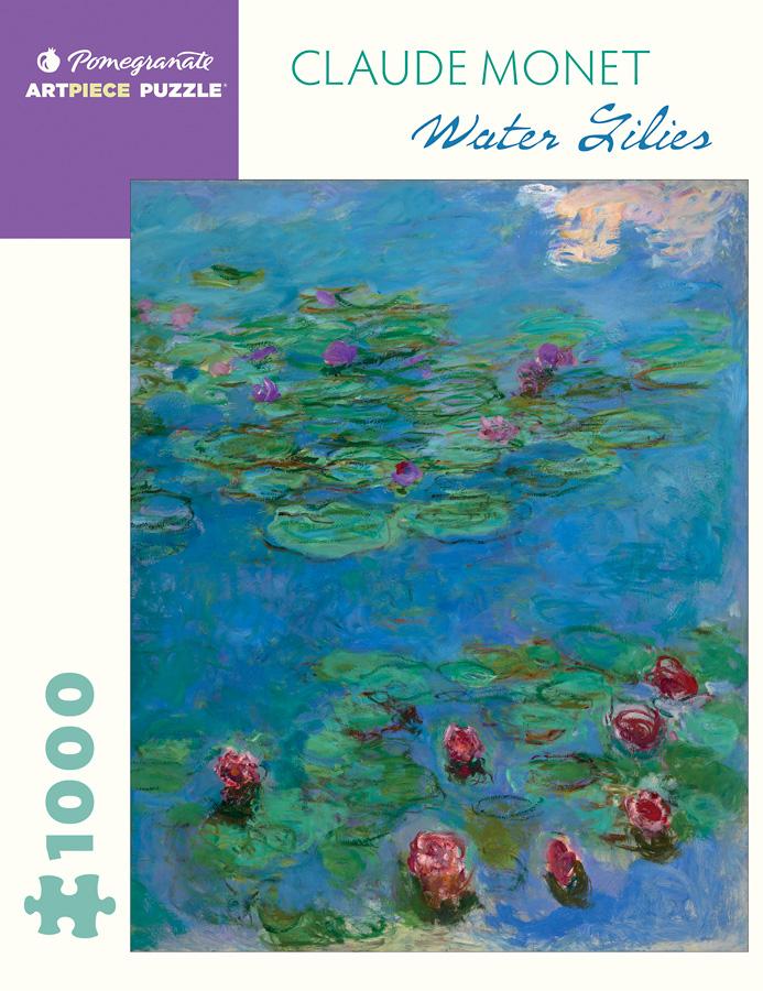 Water Lilies   Puzzle Pomegranate 1000 Piezas