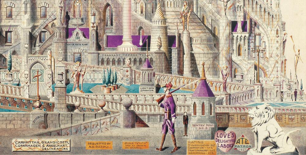 The Kathredal   Puzzle Pomegranate 1000 Piezas