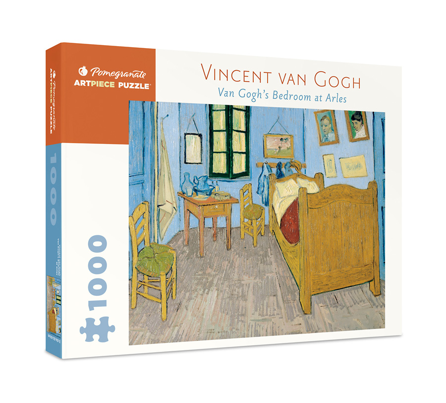 Bedroom at Arles, Van Gogh | Puzzle Pomegranate 1000 Piezas