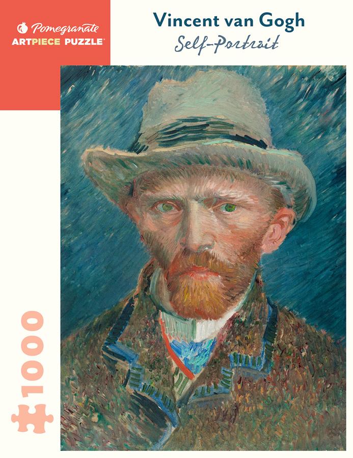 Self Portrait Vincent van Gogh | Puzzle Pomegranate 1000 Piezas