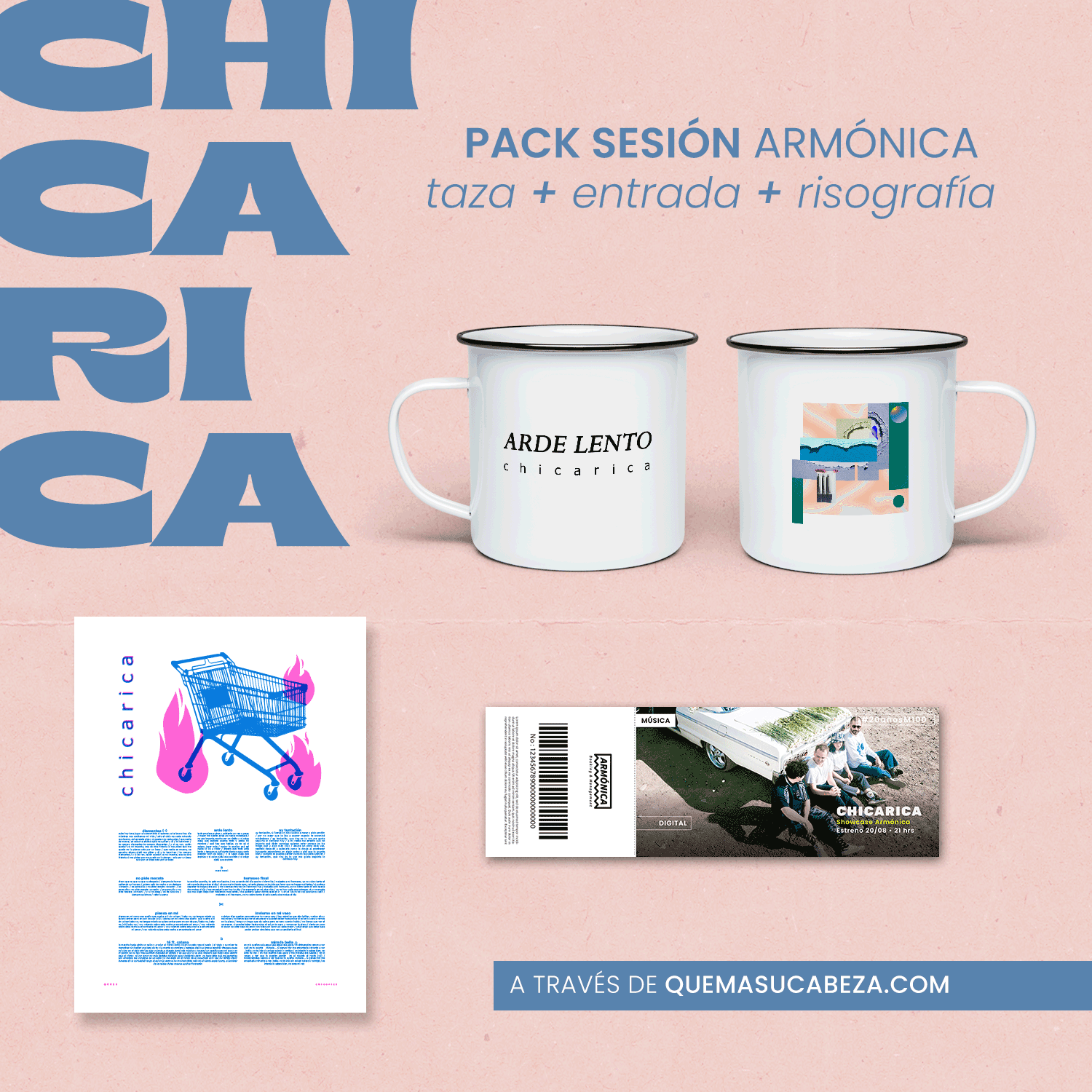 Pack Sesiones Armónica: Chicarica